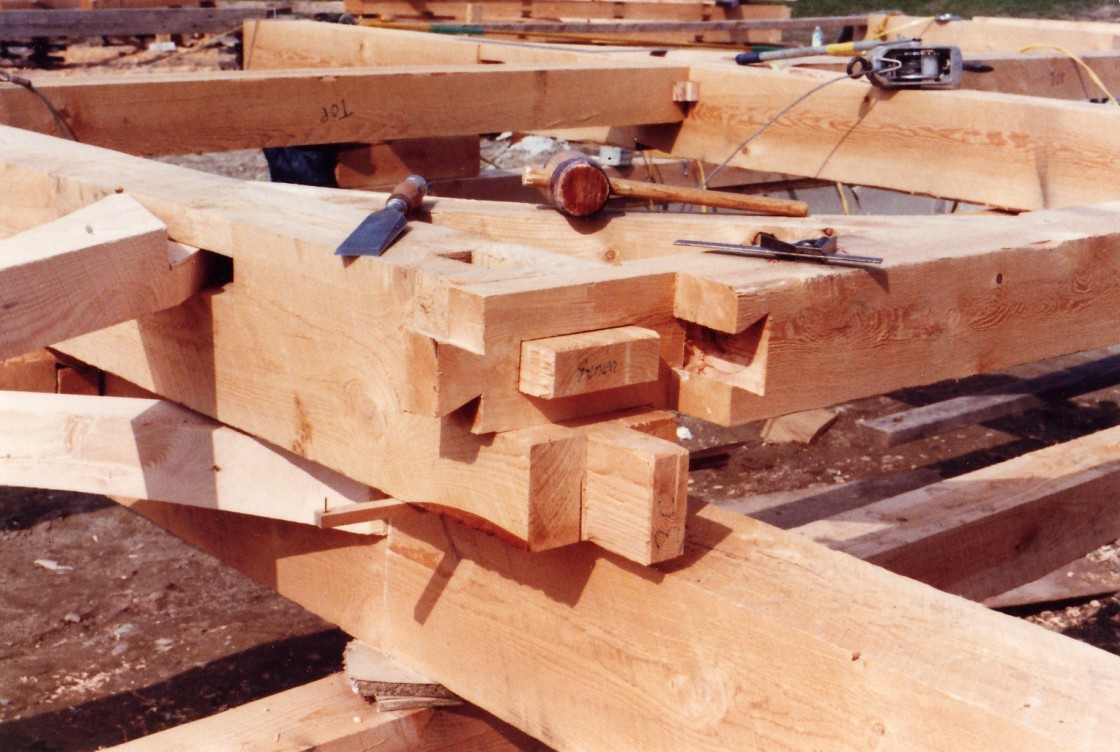 Timber Frame/Woodworking Gallery - Jim Huntington Design Build